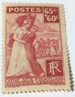France 1938 Charity Stamp 65c + 60c - Mint - Gebraucht