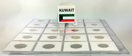 Kuwait, Lovely Coin Collection 1961-2013 With 26 Different Coins (1 Silver) In Coinholders, All In High Grades Including - Kuwait