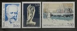 Monaco 1990 / Yvert N°1746-1748 / ** - Ongebruikt