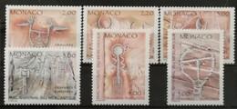 Monaco 1989 / Yvert N°1663-1668 / ** - Ongebruikt