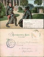 Ansichtskarte  Scherzkarten - Haste E Wirkung? 1905 - Humor