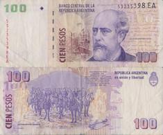 Argentina / 100 Pesos / 2003 / P-357(b) / VF - Argentina