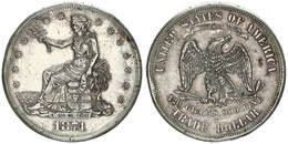 United States Of America, 1 Dollar Silver 1874S Seated Liberty, KM 108, VF/XF - Sin Clasificación