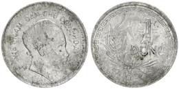 Vietnam, Democratic Republic, 1 Dong Aluminum 1946 Head Right, KM 3 MEDAL ALIGNMENT, A.VF - Vietnam