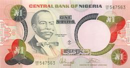 Nigeria, Republic, Banknote 1 Naira ND (1979-1984) Macaulay At Left, P 19a, UNC - Uruguay