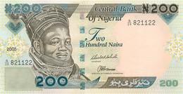 Nigeria, Republic, Banknote 200 Naira 2005 Ahmadu Bello At Left, P 29d, UNC - Uruguay