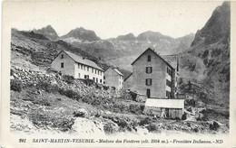 Saint Martin Vésubie (06) - Madone Des Fenêtres Frontière Italienne - Rare - Saint-Martin-Vésubie