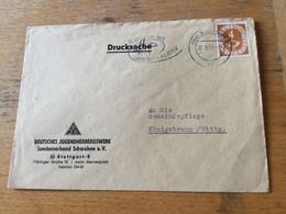 K14 BRD 1953 Drucksache Mit Mwst. Von Stuttgart Cannstatter Volksfest - Covers & Documents