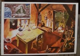 MONACO-CARTE MAXIMUM Alphonse Daudet, Les Lettres De Mon Moulin - Maximumkarten (MC)