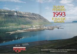 Islande Iceland Islensk - Timbres Stamps Frimerki Pack 1993 - Ongebruikt
