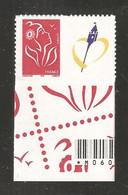 France, Personnalisé, 3744A, 3744, Avec Vignette Emblème Nord-Pas De Calais, Neuf **, TTB, Marianne De Lamouche - Sellos Personalizados