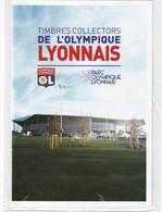 Timbres Collectors De L'Olympique Lyonnais - Lettre Verte - Collectors