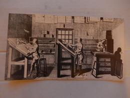 Grande Carte Double  Métier Ancien ( Imprimerie ) Editions Yvon  Dim 21/11.5 Cm Neuve - Zonder Classificatie