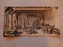 Grande Carte Double  Métier Ancien ( Charron ) Editions Yvon  Dim 21/11.5 Cm Neuve - Zonder Classificatie