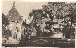 Portugal & Circulated, Bom Jesus, Terreiro Dos Evangelistas And Central Chapel, Braga A Lisboa 1943 (6668) - Kerken En Kathedralen