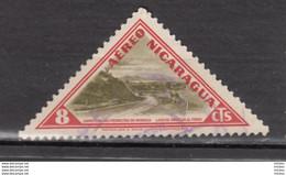 ##15, Nicaragua, Triangle, Autoroute, Highway, Airmail - Nicaragua
