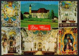 Steingaden Wallfahrtskirche Wies UNESCO Ungelaufen - Weilheim