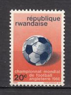 Rwanda, Foot, Football, Soccer, Ballon, Ball, Coupe Du Monde, World Cup - 1966 – Engeland