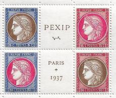 France N°348/351** Bloc Central Cote 450€ - Nuovi
