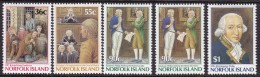 Norfolk Island 1986 Gov Phillip Sc 392-96 Mint Never Hinged - Norfolkinsel