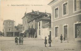 "CPA FRANCE 38 "" St Marcellin, La Gendarmerie"". - Saint-Marcellin"