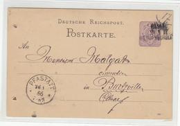 BAHNPOST Ra3 BASEL-WEISSENBURG 26.1. II Ankunftstempel PFASTATT / Aktenlochung - Storia Postale
