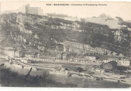 639. BESANCON . CITADELLE ET FAUBOURG RIVOTTE ( +peniches Sur Le Doubs )  . CARTE NON ECRITE - Besancon