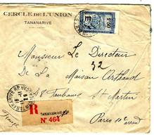 42313 - Recommandée Pour La France - Storia Postale