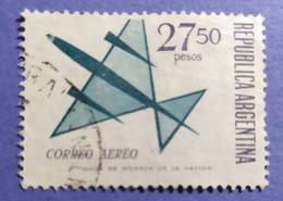 -    REPUBBLICA  ARGENTINA   -   VALORE  27,50  Pesos   - USATO - Corrientes (1856-1880)