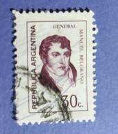 -    REPUBBLICA  ARGENTINA   -   VALORE  2 C.   - USATO - Corrientes (1856-1880)