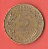 5 CENTIMES 1967  -  TTB - C. 5 Centesimi