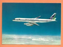 CP - AVION PLANE SUPER DC 8 62 - UTA UNION DES TRANSPORTS AÉRIENS - PHOTO DOUGLAS - COLLECTION UTA - 1946-....: Era Moderna