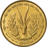 Monnaie, West African States, 10 Francs, 1964, Paris, SUP, Aluminum-Bronze, KM:1 - Ivory Coast