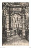 PARIS  ( XVIII° ):  LE  PARC  MONCEAU  -  L' ANCIENNE  PORTE  DE  L' HOTEL  DE  VILLE  -  POUR  L' ITALIE  .  FP - Parks, Gardens