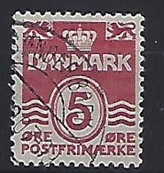 Denmark  1938-80  Wellenlinien (o) Mi.244 X (cancelled SONDERBORK) ! - Used Stamps