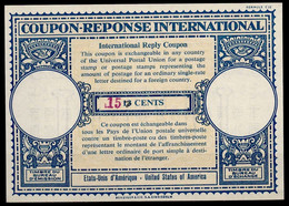 USA Lo16u Handstamp Violet 5,5x4mm 15 /13 CENTSInternational Reply Coupon Reponse Antwortschein IAS IRC Mint ** - Altri