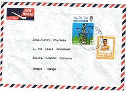 Brunei... Lettre Pour La France. Scoutisme - Brunei (1984-...)