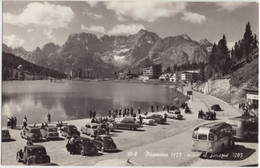 Lago Di Misurina: CITROËN TRACTION AVANT, VW 1200 KÄFER/COX (SPLIT & OVAL), OPEL OLYMPIA REKORD, POST-AUTOBUS, FIAT 1100 - Passenger Cars