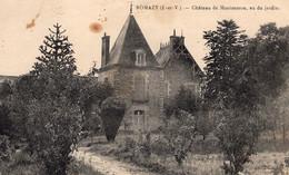 Romazy (35) -Château De Montmauron Vu Du Jardin. - Autres Communes