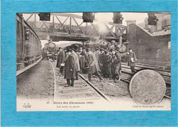 Évènement. - Grève Des Cheminots, 1910. - Les Trains En Panne. - Strikes