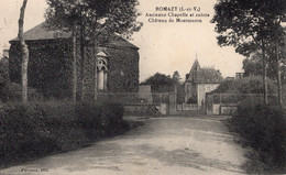 Romazy (35) - Ancienne Chapelle Et Entrée Du Château Du Moulinet. - Autres Communes