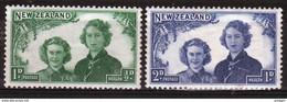New Zealand 1944 Set Of Stamps To Celebrate Health. - Ongebruikt