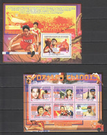 H188 2008 GUINEE GUINEA SPORTS CHINESE ATHLETES 1KB+1BL MNH - Atletica