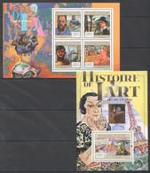 Z413 2011 GUINEE GUINEA ART HISTOIRE DE L'ART FAUVISTE 1KB+1BL MNH - Other
