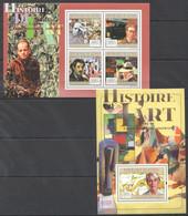Z414 2011 GUINEE GUINEA ART HISTOIRE DE L'ART L'EXPRESSIONNISME ABSTRAIT 1KB+1BL MNH - Other