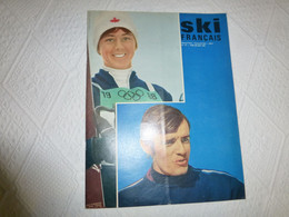 SKI Français Mai-juin 1968, KILLY, Nancy Greene ; Ref REV2 - Sport