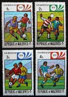 (dcbv-1306)  Maldives  -  Malediven       Mi 521-24  Yv  496-99     1974    MNH - 1974 – West-Duitsland