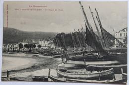 CPA 66 Banyuls Sur Mer Un Grain En Rade Bateaux Sur La Plage - Banyuls Sur Mer