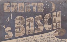 1851104Den Bosch, Groete Uit Den Bosch 1904 (zie Hoeken) - 's-Hertogenbosch