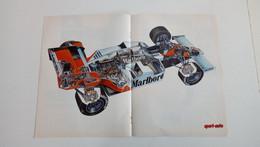 Coupure De Presse Automobile De 1983 Formule 1-McLaren De Niki Lauda - Sport